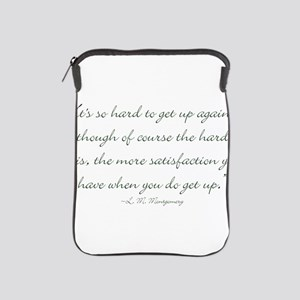 Its so hard to get up again iPad Sleeve