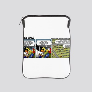 0815 - Camping with friends iPad Sleeve