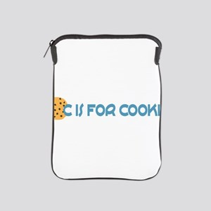 C is for Cookie iPad Sleeve