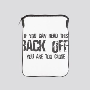 If you can read this back off! iPad Sleeve