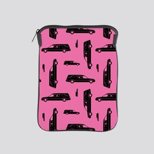 Pink Hearse Pattern iPad Sleeve