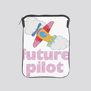 future pilot girl iPad Sleeve