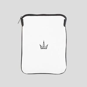 Queen of Spades Crown 02 iPad Sleeve