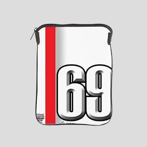 69redwhite iPad Sleeve