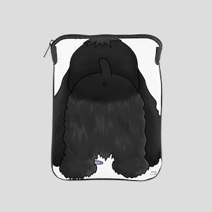 BlackCockerShirtBack iPad Sleeve