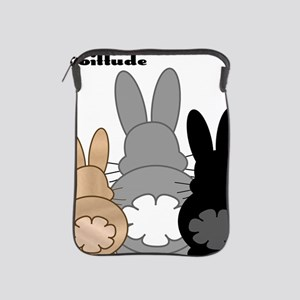 Rabbittude Posse iPad Sleeve