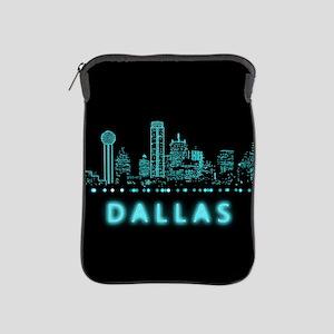 Digital Cityscape: Dallas, Texas iPad Sleeve