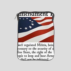 2nd amendment iPad Sleeve
