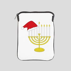 Hanukkah And Christmas iPad Sleeve