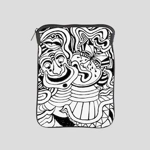 Theater Masks iPad Sleeve