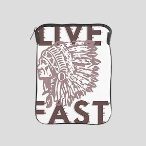 Live Fast iPad Sleeve