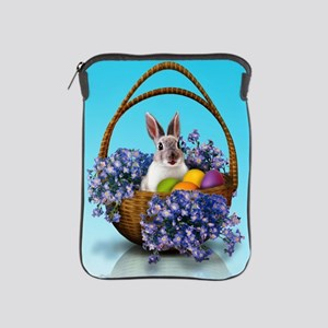 Easter Bunny Basket iPad Sleeve