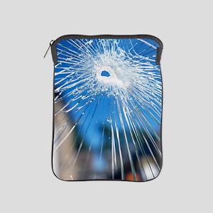 Broken glass iPad Sleeve