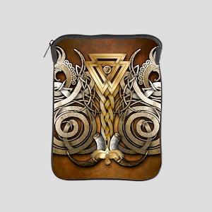 Norse Valknut Dragons iPad Sleeve