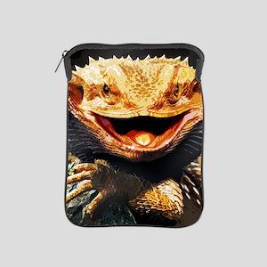 Grotesque Bearded Dragon Lizard iPad Sleeve