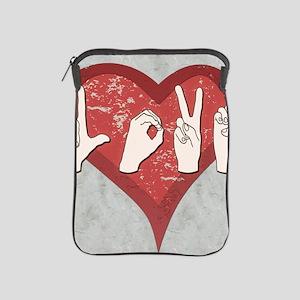 LoveASL2 iPad Sleeve