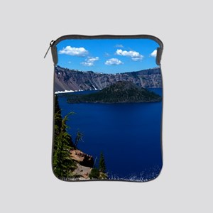 (16) Crater Lake  Wizard Island iPad Sleeve
