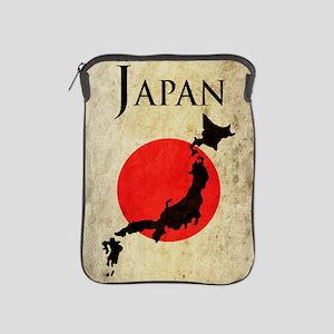 Map Of Japan iPad Sleeve