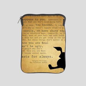 Velveteen Rabbit Print iPad Sleeve