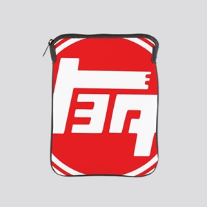 TEQ logo red large iPad Sleeve