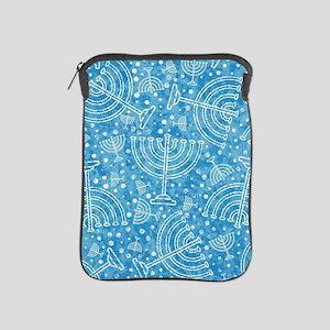 Hanukkah Menorah Pattern iPad Sleeve