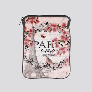 Paris spring iPad Sleeve