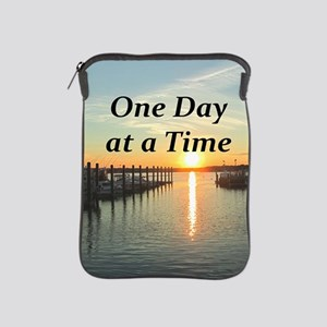 ONE DAY AT A TIME iPad Sleeve