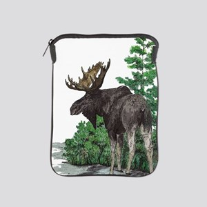 Bull moose art iPad Sleeve