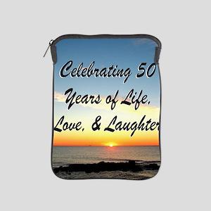INSPIRATIONAL 50TH iPad Sleeve