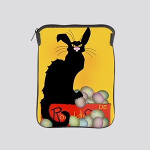 Happy Easter - Le Chat Noir iPad Sleeve