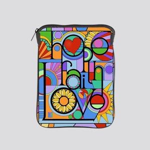 Hope, Faith, Love iPad Sleeve