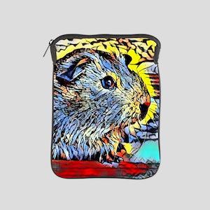 Color Kick -guinea pig iPad Sleeve