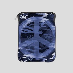 Camouflage Peace Sign iPad Sleeve