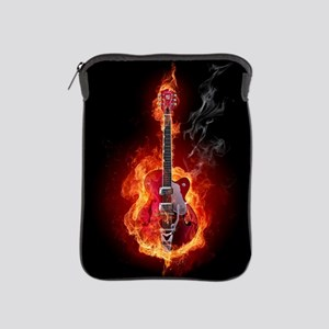 Flaming Guitar iPad Sleeve