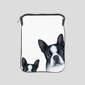 Dog 128 Boston Terrier iPad Sleeve