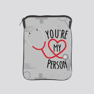You're My Person iPad Sleeve