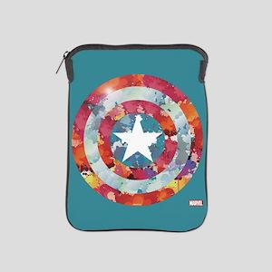 Captain America Tie-Dye Shield iPad Sleeve
