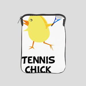 Tennis Chick Black iPad Sleeve