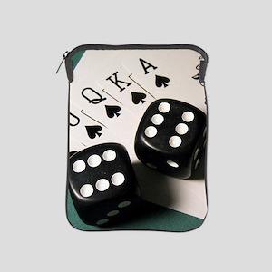 Cards And Dice iPad Sleeve