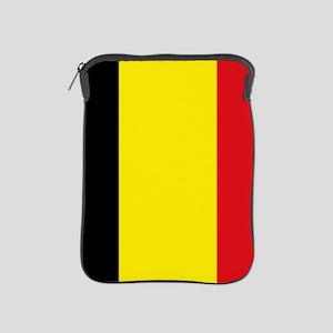 Belgian flag iPad Sleeve