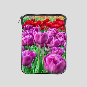 Tulip Field iPad Sleeve