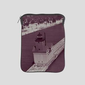 Holland Harbor Lighthouse iPad Sleeve