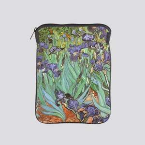 Van Gogh Irises, Vintage Post Impressi iPad Sleeve