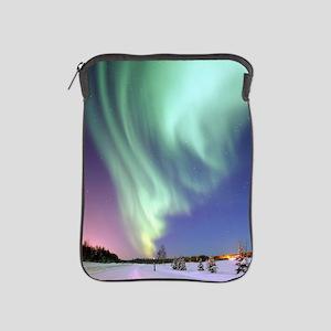 Northern Lights of Alaska Photograph iPad Sleeve