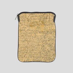 Old Manuscript iPad Sleeve