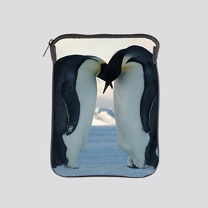 Emperor Penguin Courtship iPad Sleeve