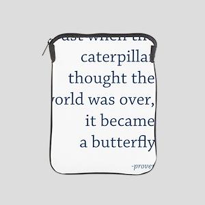 caterpillar10x7 iPad Sleeve