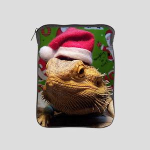 Beardie Santa Hat iPad Sleeve