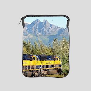 Alaska Railroad locomotive engine & mo iPad Sleeve