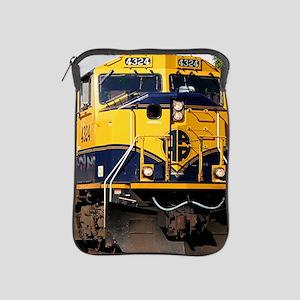 Alaska Railroad engine locomotive iPad Sleeve